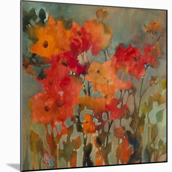 Orange Flower-Michelle Abrams-Mounted Premium Giclee Print