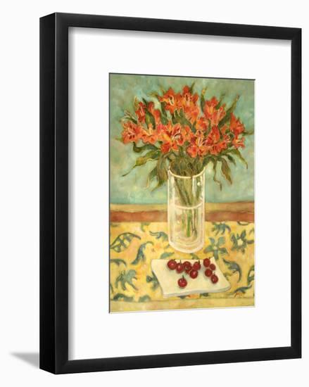 Orange Flowers-Lorraine Platt-Framed Giclee Print