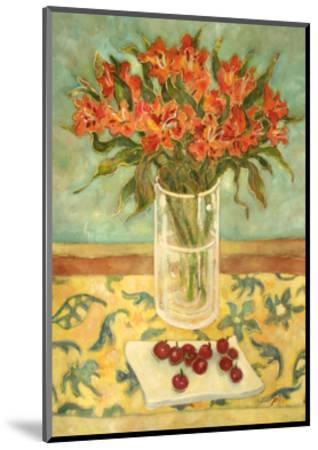 Orange Flowers-Lorraine Platt-Mounted Giclee Print