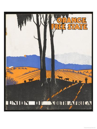 Orange Free State--Giclee Print