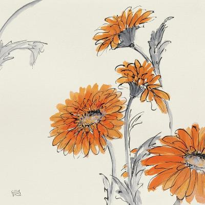 Orange Gerbera I-Chris Paschke-Art Print