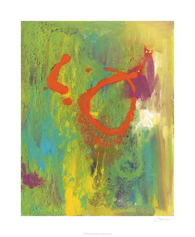 Orange Graffiti IV-Joyce Combs-Limited Edition