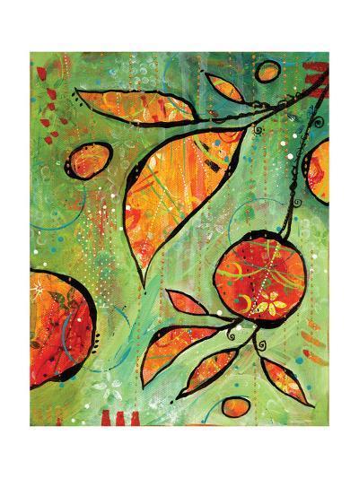 Orange is Happy-BJ Lantz-Art Print