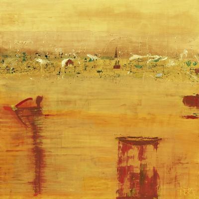Orange Landscape-Rose Richter-armgart-Art Print