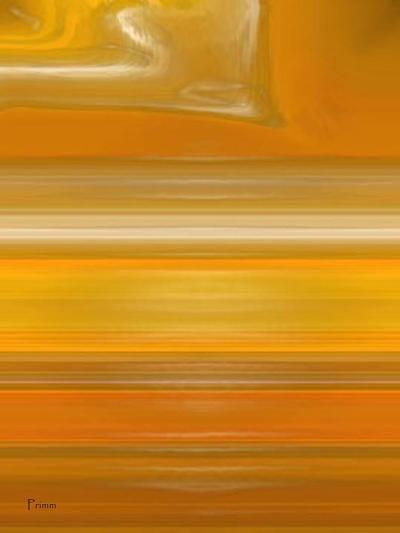 Orange Line-Kenny Primmer-Art Print