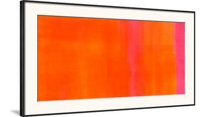 Orange-Magenta, c.2005-Susanne St?hli-Framed Art Print