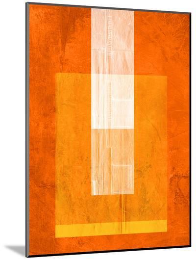 Orange Paper 2-NaxArt-Mounted Print