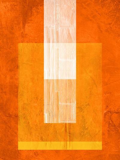 Orange Paper 2-NaxArt-Art Print