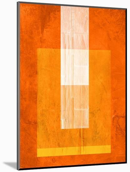 Orange Paper 2-NaxArt-Mounted Art Print