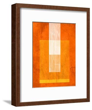 Orange Paper 2-NaxArt-Framed Art Print