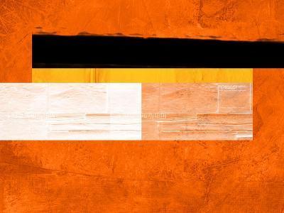 Orange Paper 4-NaxArt-Art Print