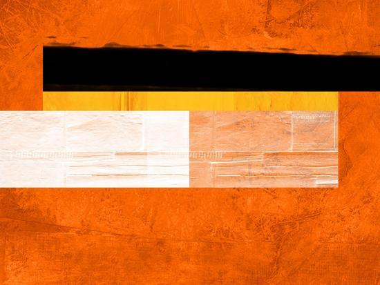 Orange Paper 4-NaxArt-Art Print