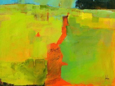 Orange Path-Paul Bailey-Art Print