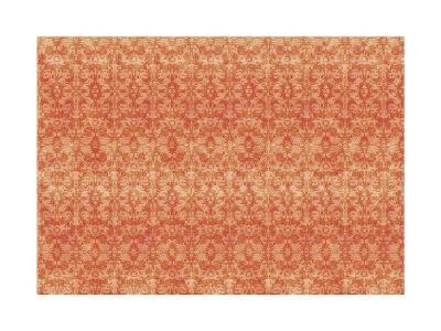 Orange Pattern-Maria Trad-Giclee Print