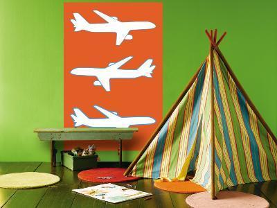 Orange Planes-Avalisa-Wall Mural