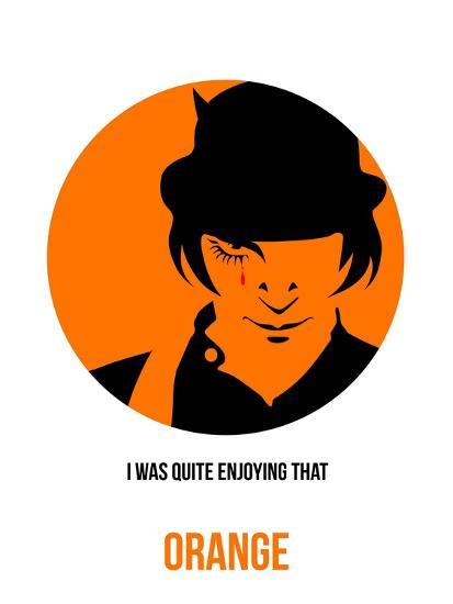 Orange Poster 1-Anna Malkin-Art Print