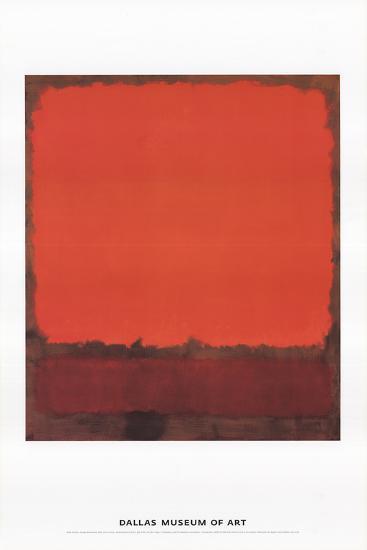Orange, Red, and Red-Mark Rothko-Art Print