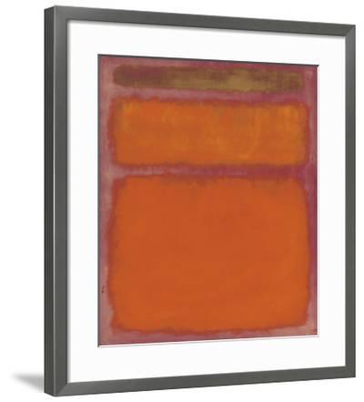 Orange, Red, Yellow, 1961-Mark Rothko-Framed Giclee Print
