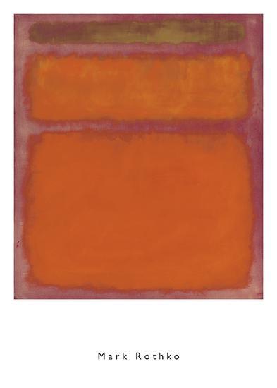 Orange, Red, Yellow, 1961-Mark Rothko-Art Print