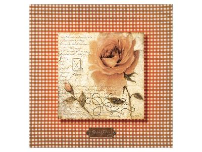 Orange Rose-Joadoor-Premium Giclee Print