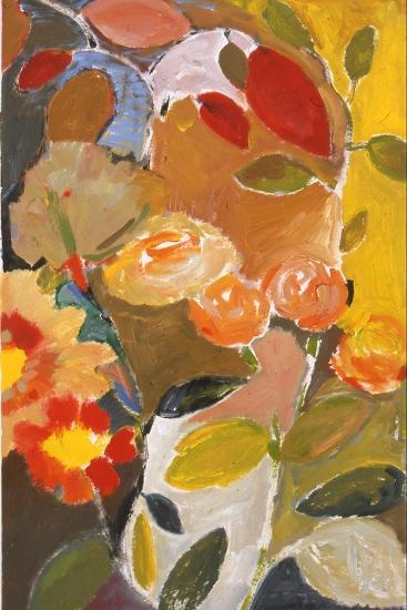 Orange Roses-Kim Parker-Giclee Print