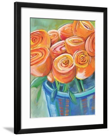 Orange Roses-Anne Seay-Framed Art Print