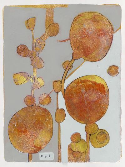 Orange Seed Pods 3-Maria Pietri Lalor-Giclee Print