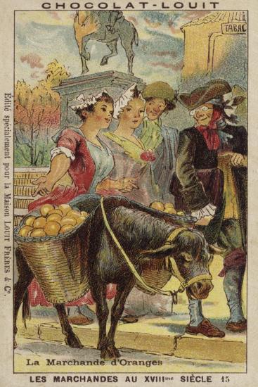 Orange Seller, 18th Century--Giclee Print