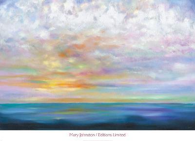 Orange Skies-Mary Johnston-Art Print