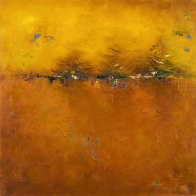 Orange Sunset-Patricia Pinto-Premium Giclee Print