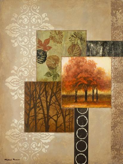 Orange Trees-Michael Marcon-Premium Giclee Print