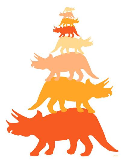 Orange Tritop-Avalisa-Art Print