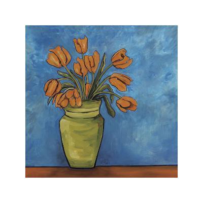 Orange Tulips-Ann Parr-Giclee Print