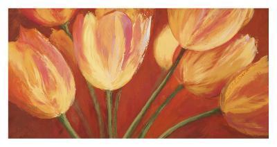 Orange Tulips-Silvia Mei-Art Print