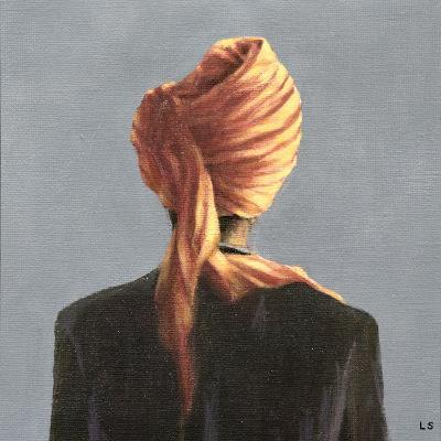 Orange Turban, 2004-Lincoln Seligman-Giclee Print