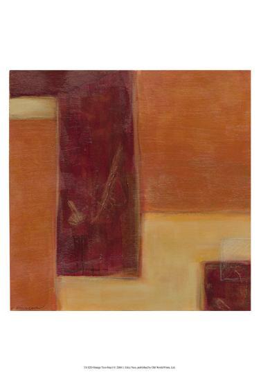 Orange Two-Step I-Erica J^ Vess-Art Print