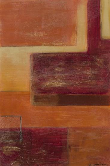 Orange Two-Step III-June Erica Vess-Art Print