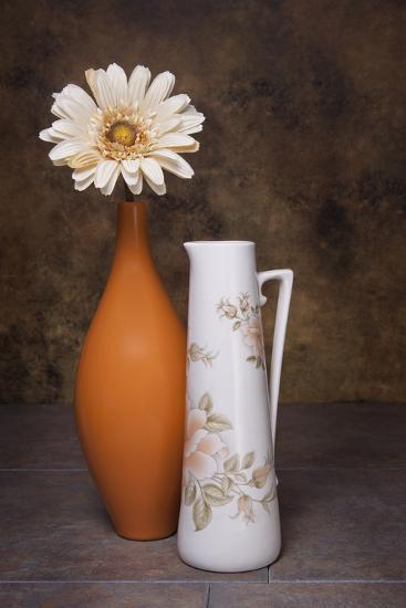 Orange Vase with Pitcher I-C^ McNemar-Photographic Print