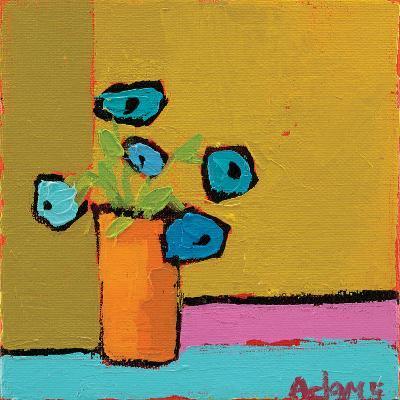 Orange Vase-Phyllis Adams-Art Print