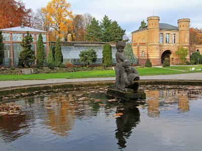 Orangerie, Karlsruhe, Baden-Wurttemberg, Germany, Europe-Hans Peter Merten-Photographic Print