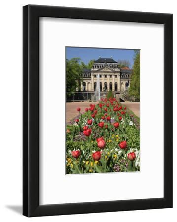 Orangery in the palace garden of Fulda, Hesse, Germany