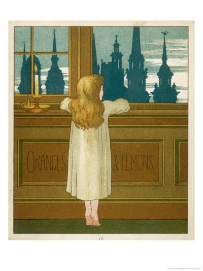 Oranges and Lemons Say the Bells of St. Clement's-Edward Hamilton Bell-Giclee Print