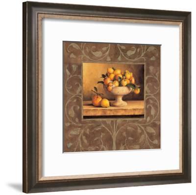 Oranges and Lemons-Andres Gonzales-Framed Giclee Print