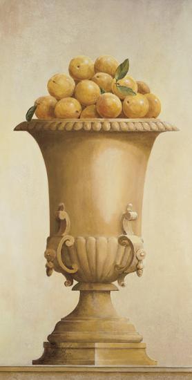 Oranges in Vase-Hampton Hall-Art Print