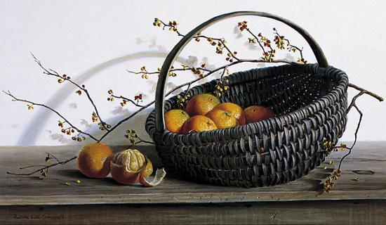 Oranges-Pauline Ebl? Campanelli-Art Print
