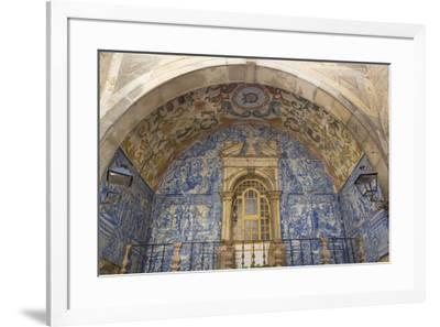 Oratory of Our Lady of Piety, Town Gate, Obidos, Portugal, Europe-Richard Maschmeyer-Framed Photographic Print