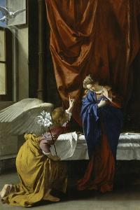 Annunciation, 1621-1623 by Orazio Gentileschi