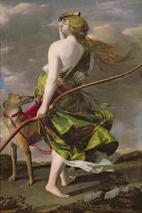 Diana the Hunter, C.1624-25 by Orazio Gentileschi