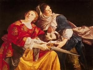 Judith with the Head of Holofernes by Orazio Gentileschi