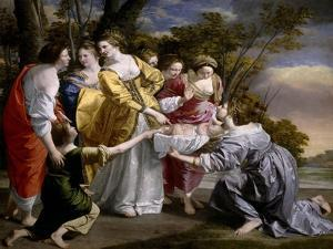 Moses Saved From the Waters', 1633, Italian School by Orazio Gentileschi